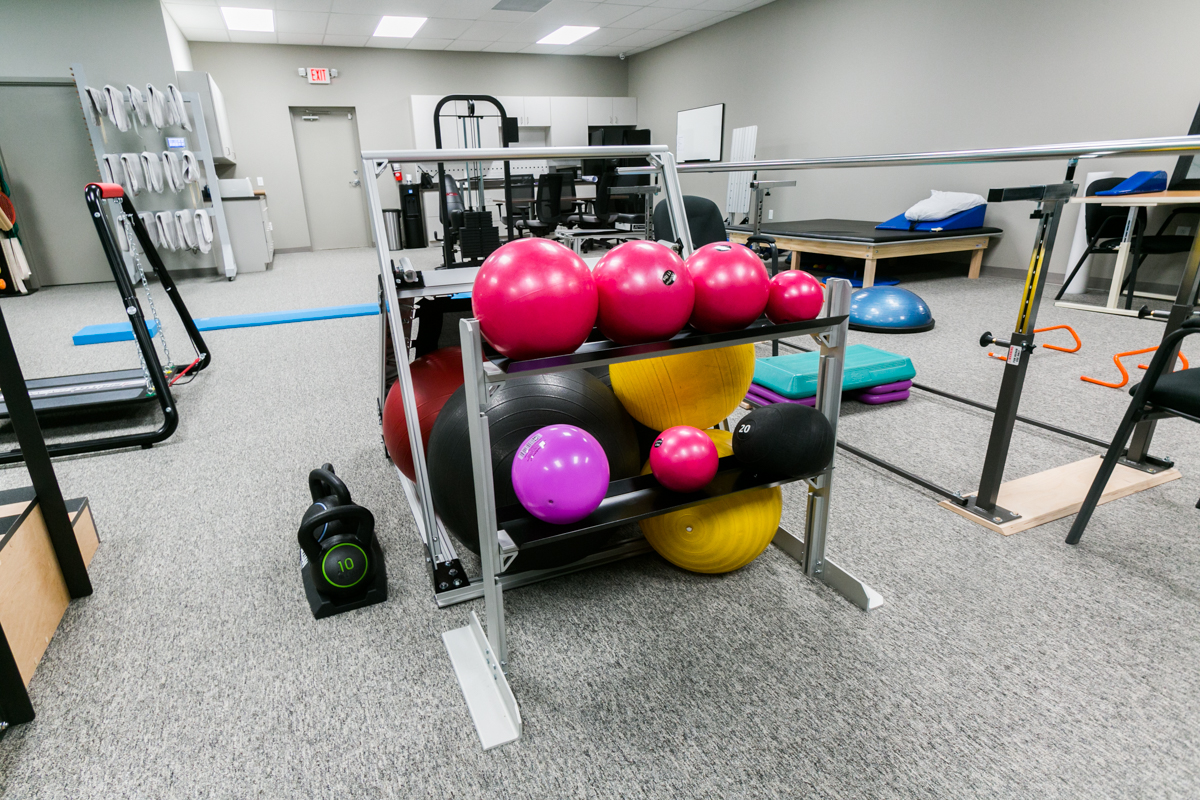 Our exercise equipment is first class!