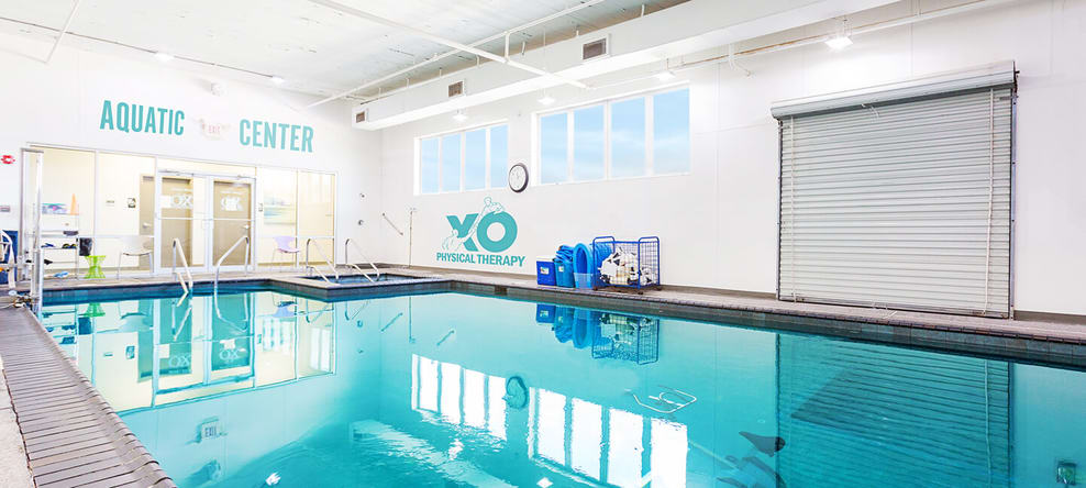 Check out our amazing pool for aquatic therapy!