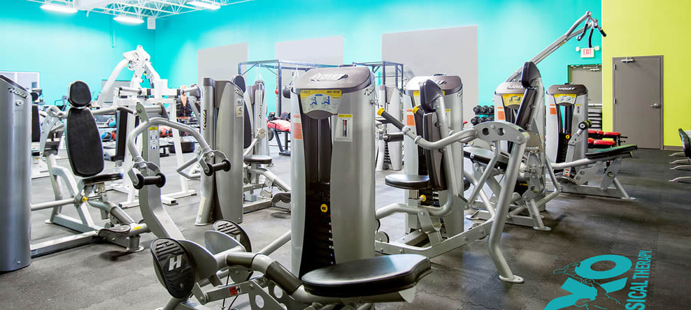 Look at all of our awesome gym fitness equipment!
