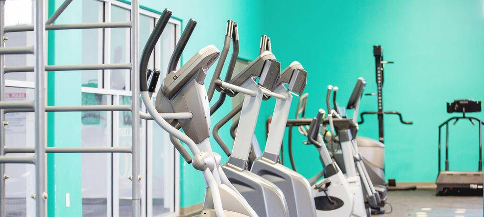 Just some of our functional training machines