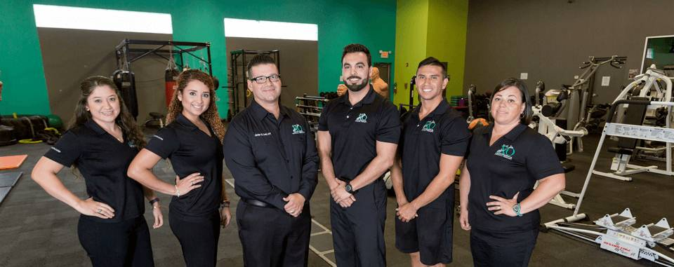 Our proud physical therapy team