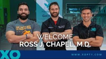 Dr. Ross Chapel visit XO Physical Therapy